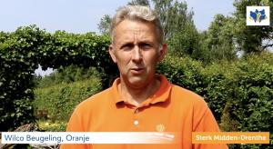 Glasvezel in Oranje