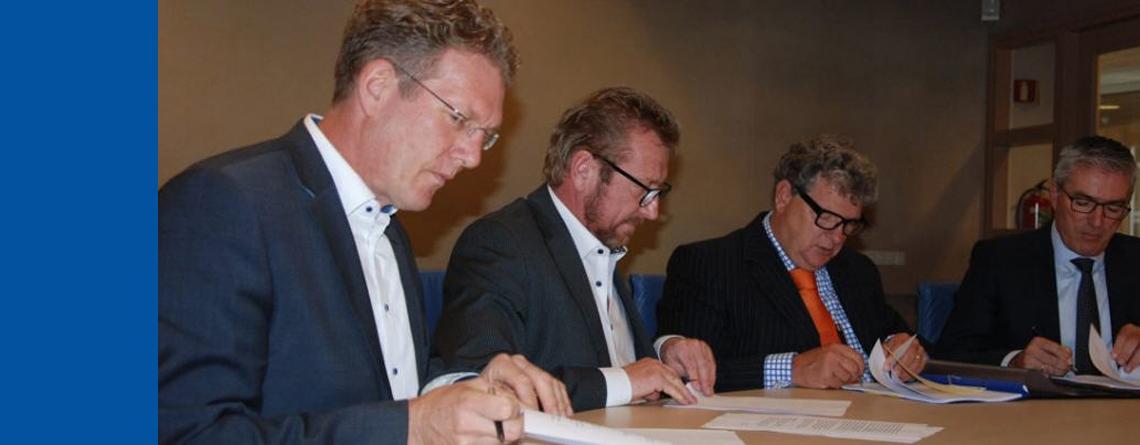 Leningovereenkomsten ondertekend